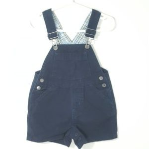 The Children's Place | Classic Blue Short Overalls